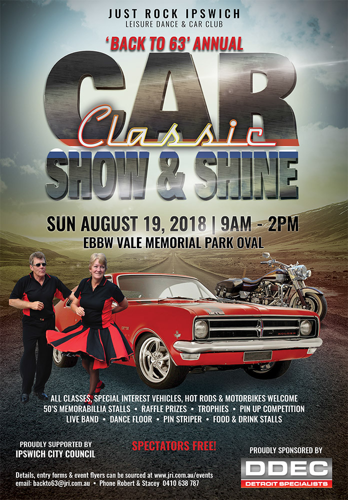 Back To Classic Car Show And Shine Just Rock Ipswich - Detroit car show august 2018