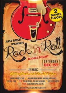 Rock n Roll Dance Night @ Swifts Sports Club (Upstairs)